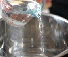 Hoeveel water in snelkookpan