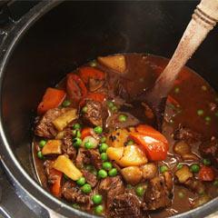 Kooktijd stoofvlees snelkookpan