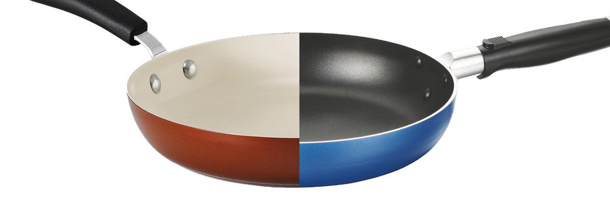 keramische pan of teflon pan kopen? verschil tussen beide materialen
