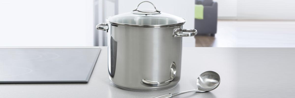 Een goede soeppan kopen?! Het bereiden van grote hoeveelheden
