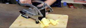 Waarom een frietsnijder kopen? Snel en gelijkmatig frietjes snijden!